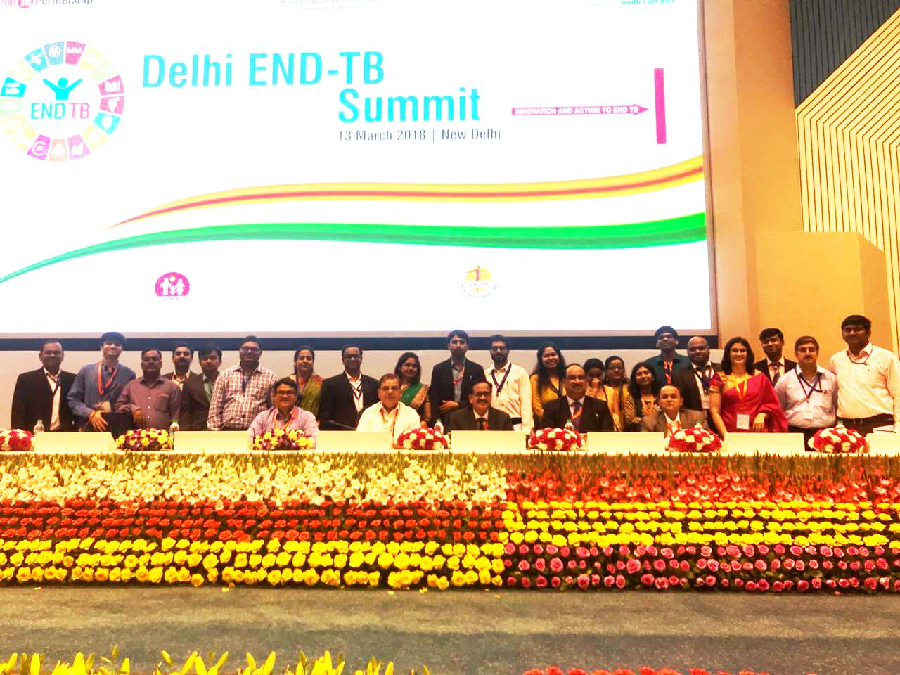CTD Team at Delhi End TB Summit 2018