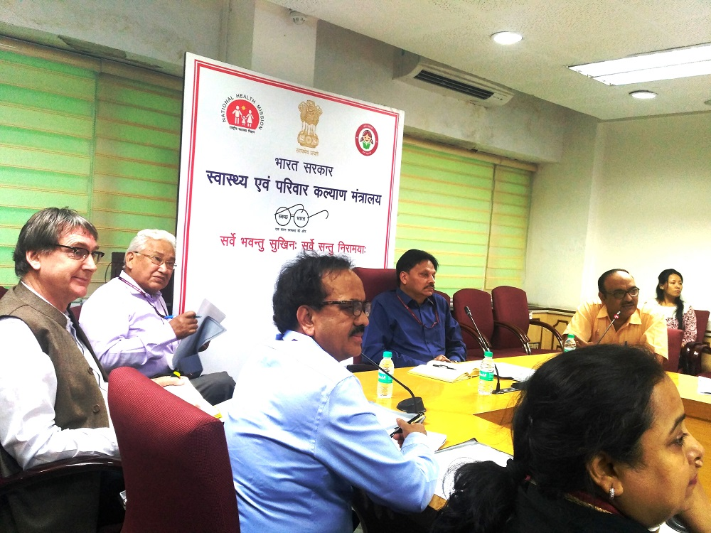 First meeting of National TB Forum for engagement of Community and Civil Society under RNTCP was convened under the chairmanship of Addl. Secretary & DG RNTCP & NACO, Shri Sanjeeva Kumar