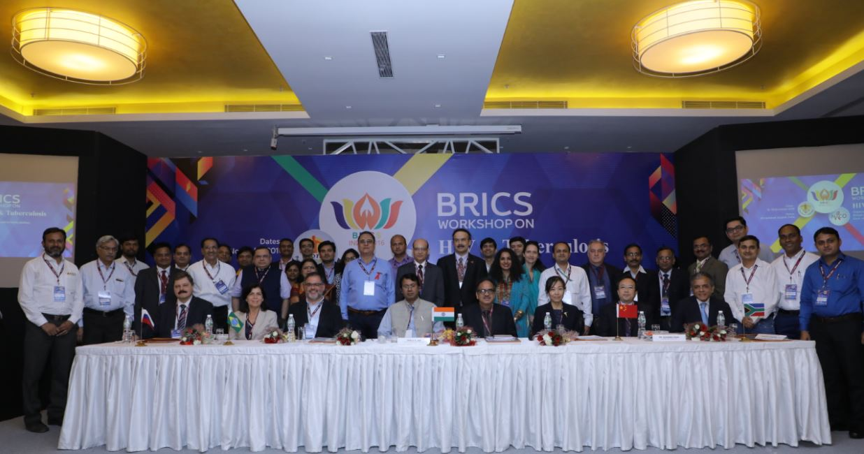 BRICS Workshop on HIV and Tuberculosis held on 15th & 16th November 2016 at Ahemdabad,Gujrat